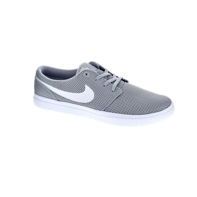 ab0df141df27 Nike - Chaussures Homme Baskets basses modele Sb Portmore Ii Gris ...