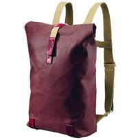 Brooks - Pickwick - Sac à dos - Canvas Small 12l beige/rouge