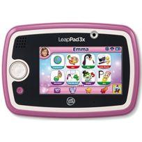 Leapfrog - Jeu Electronique - Tablette Tactile LeapPad 3x - Rose