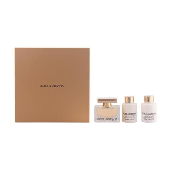 Dolce   Gabbana - The Set One Edp 75Ml + Bl + Sg 100Ml 100Ml - pas cher  Achat   Vente Coffrets - RueDuCommerce 956982be87e3