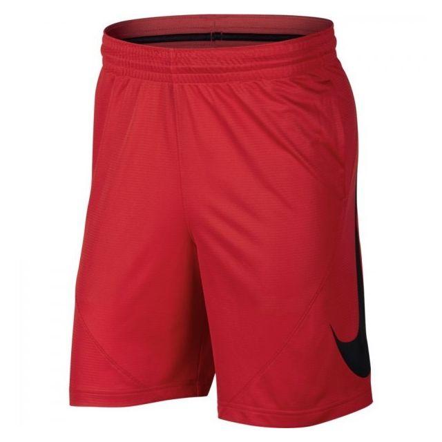 factory price 197a3 51644 Nike - Short de basketball pour Homme Rouge taille - S - pas cher Achat   Vente Shorts - RueDuCommerce
