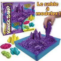 Kinetic Sand - Coffret château de sable violet - 6028092