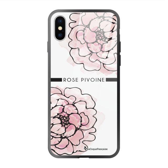 coque iphone 7 plus pivoine