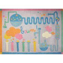 1 Pied Sur Terre - Tapis Sciences chambre bébé par - Couleur - Multicolor, Taille - 130 x 170 cm