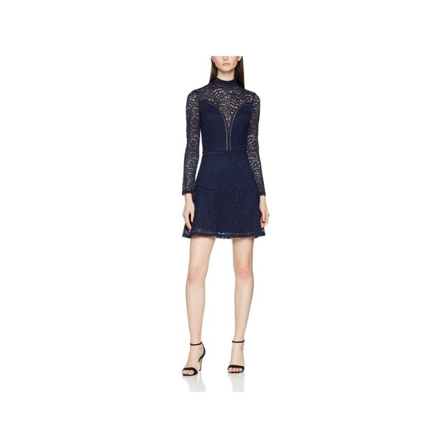 f00c75873876c Guess - Robe Odessa Bleu - Taille - Xl - pas cher Achat   Vente Robes -  RueDuCommerce