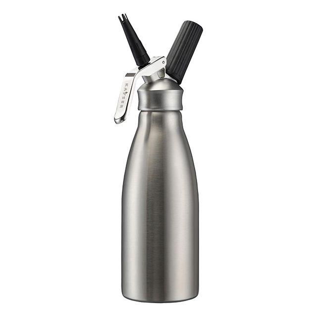 KAYSER siphon à crème chantilly inox 1l froid et tiède - 4101