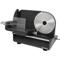 BESTRON - Trancheuse en métal 150W - en noir