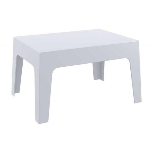Decoshop26 - Table basse de jardin en plastique gris clair 50x70x43 ...