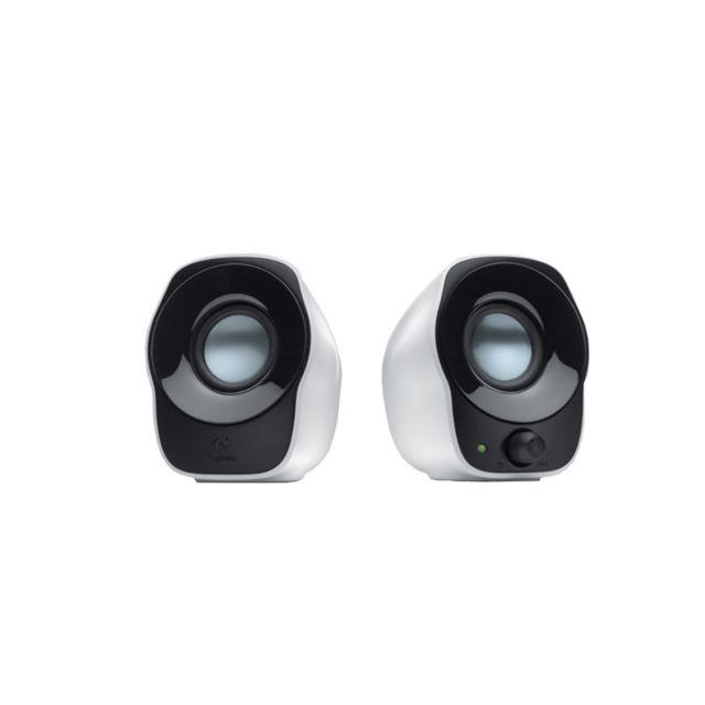 LOGITECH Stereo Speakers Z120 Ces haut-parleurs compacts et polyvalents s'apprécient de par leur simplicité de connexion et de contrôle.Branchez-les où vous voulezVous pouvez les connecter à n'importe quelle source audio dotée d'une prise de 3,5 mm standa