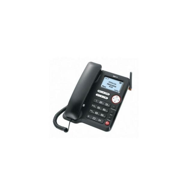 maxcom t l phone fixe filaire de mm 29d hs carte sim pas cher achat vente accessoires. Black Bedroom Furniture Sets. Home Design Ideas