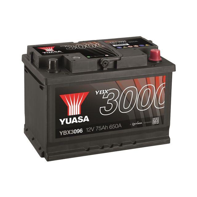 Yuasa - Batterie 12V 75AH Ybx3096