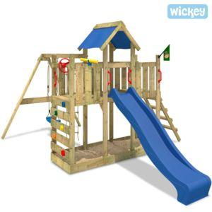 wickey aire de jeux avec bac sable twinflyer pas cher achat vente aire de jeux. Black Bedroom Furniture Sets. Home Design Ideas