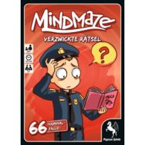 Pegasus Spiele - Mindmaze - Verzwickte RÄTSEL: 66 KriminalfÄLLE