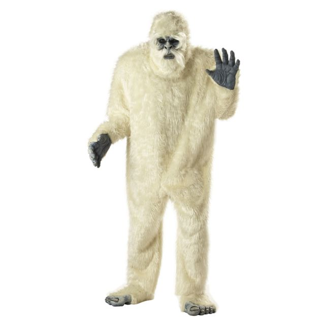 California Costume Costume Abominable Homme des NeigesXXL
