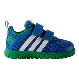new arrival b38a8 197c6 ... Adidas Chaussures Sta Fluid 3 Cf I bleu vert enfant ...