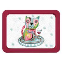 Allen Designs - Petit plateau le chat d'Allen 35 x 24 cm