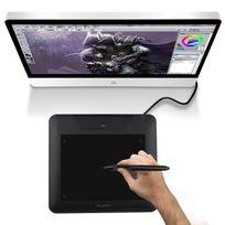Yonis - Tablette graphique palette graphique dessin 10.6 pouces noir