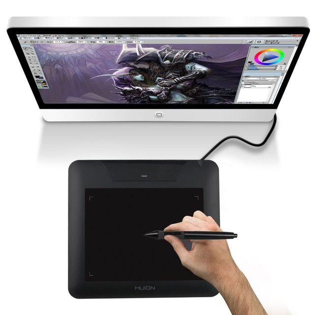 Yonis Tablette graphique palette graphique dessin 10.6 pouces noir