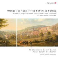Genuin Musikproduktion - uvres orchestrales de la famille Schuncke. Baleff