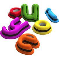 Tiggly - Jouets ludo-éducatifs avec lettres pour iPad