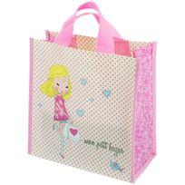 en soldes 2b905 fca62 Sac Pour Courses Cabas Shopping Girly Mon Petit Bazar