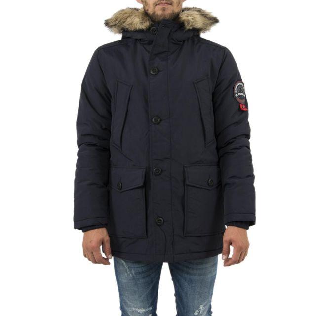 blousons et vestes m50016dr bleu