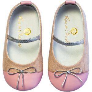 Chaussures en cuir RPC 005 19 Ballerina Black and White nH6fg