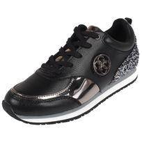 Guess - Chaussures running mode Reeta black/pewter lady Noir 59132
