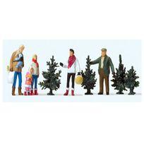 Preiser - Modélisme Ho : Figurines : Achat du sapin de Noël
