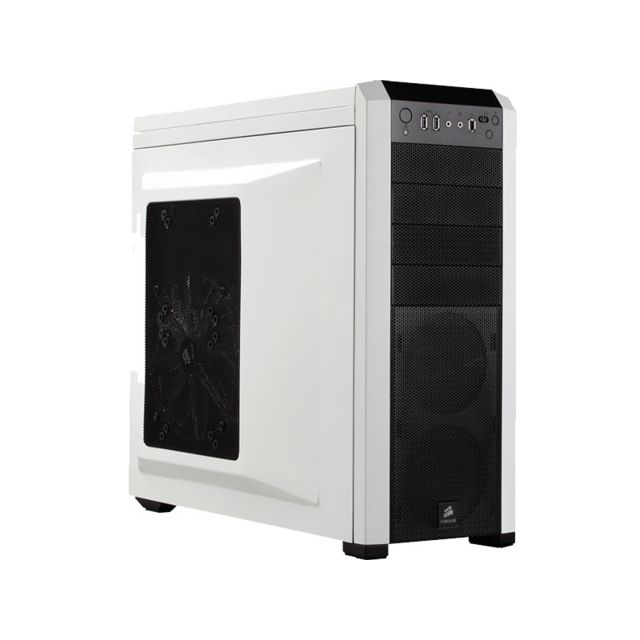 CORSAIR - Boitier PC Carbide Series 500R - Blanc