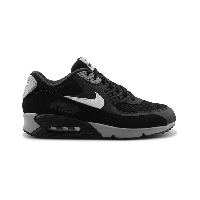 4788b892fdf Nike - Air Max 90 Essential Noir - pas cher Achat   Vente Baskets homme -  RueDuCommerce