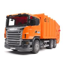 Bruder - Camion poubelle orange