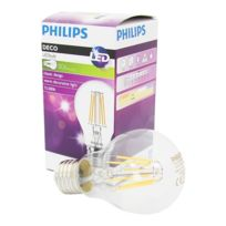 Philips - 517659 - Ampoule E27 Classic filament Ledbulb 7.5-60W 827 A60