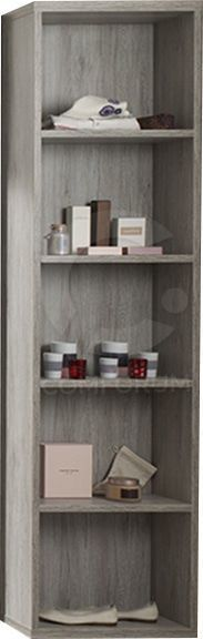 comforium grande biblioth que coloris portofino pas. Black Bedroom Furniture Sets. Home Design Ideas