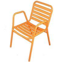 Wilsa - Fauteuil Retro Orange