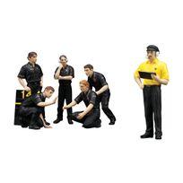 Truescale Miniatures - Figurines Mecaniciens - Jps Team Lotus - 1/43 - Tsm12AC09
