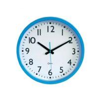 Orium - Quartz Horloge murale bleu azur Ø40cm