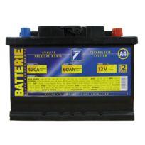 Auto 7 - Batterie 12V 60AH 420A EN, : Auto7
