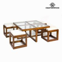 Table Basse Verre Bois Catalogue 2019 Rueducommerce Carrefour