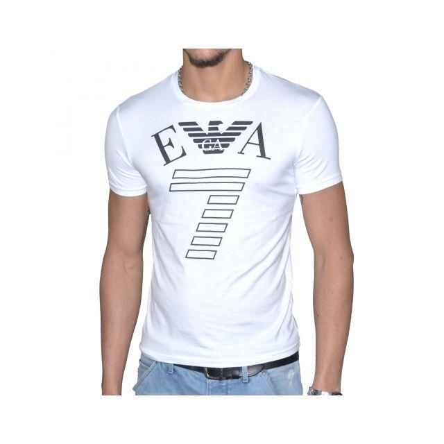 10ecbbfaaf3 Armani - En Solde - Ea7 - Tee Shirt Manches Courtes - Homme - 273620 ...