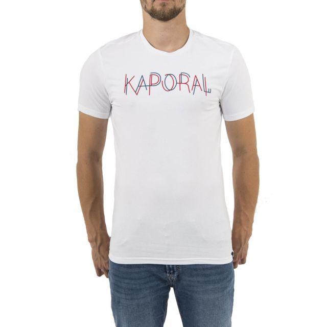 cher Kaporal pas shirt Vente 5 salut blanc Tee kaporal Achat RrRn0wq