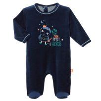 ede39adb35b58 Petit Beguin - Pyjama bébé velours Petit Héros - Taille - 12 mois