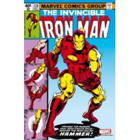 Semic Distribution - Mss009G - Figurine - Marvel Steel Cover - Iron Man , 126 - Giant Size