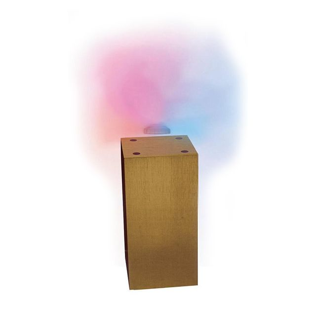 megapolite petit socle 30cm bois clair pour lampe anti gravit inomp 030l pas cher achat. Black Bedroom Furniture Sets. Home Design Ideas