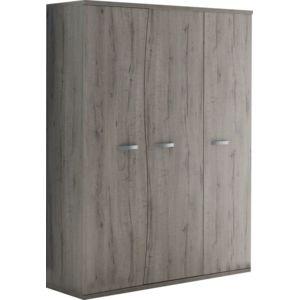 COMFORIUM - Armoire chambre bébé moderne 140cm 3 portes avec courbes ...