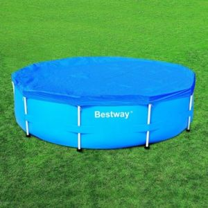 Best way b che bestway pour piscine tubulaire ronde - Bache piscine bestway ...