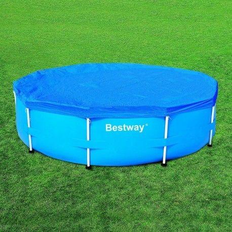 bestway b che pour piscine tubulaire ronde pas cher achat vente b che et couverture. Black Bedroom Furniture Sets. Home Design Ideas