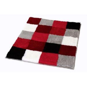 kleine wolke of germany caro tapis de bain rubis rouge 65 cm x 55 cm pas cher achat vente. Black Bedroom Furniture Sets. Home Design Ideas