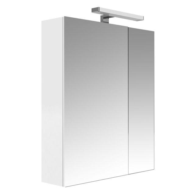 Armoire de Toilette Juno 2 Portes - Blanc