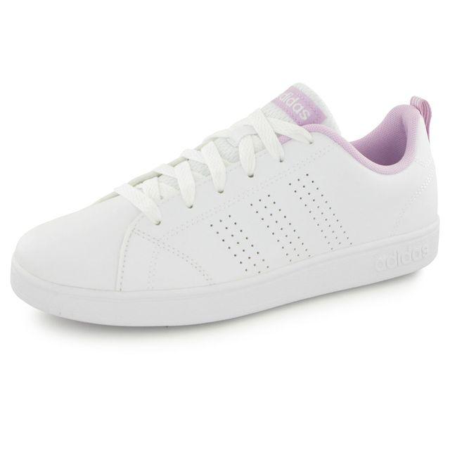 Adidas Neo Advantage Clean blanc, baskets mode enfant 30